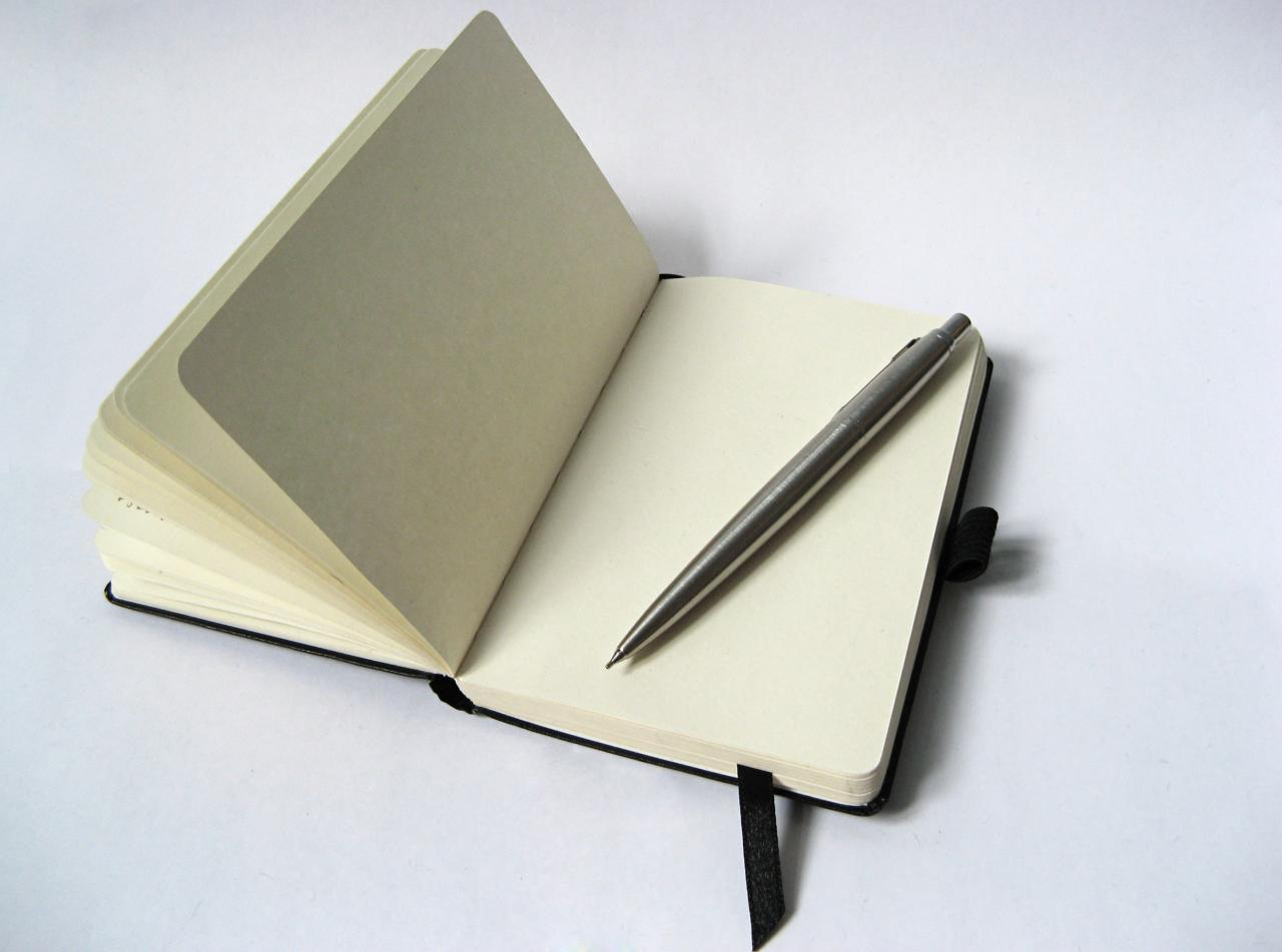 Imperfect Spirituality | Journal and pen black