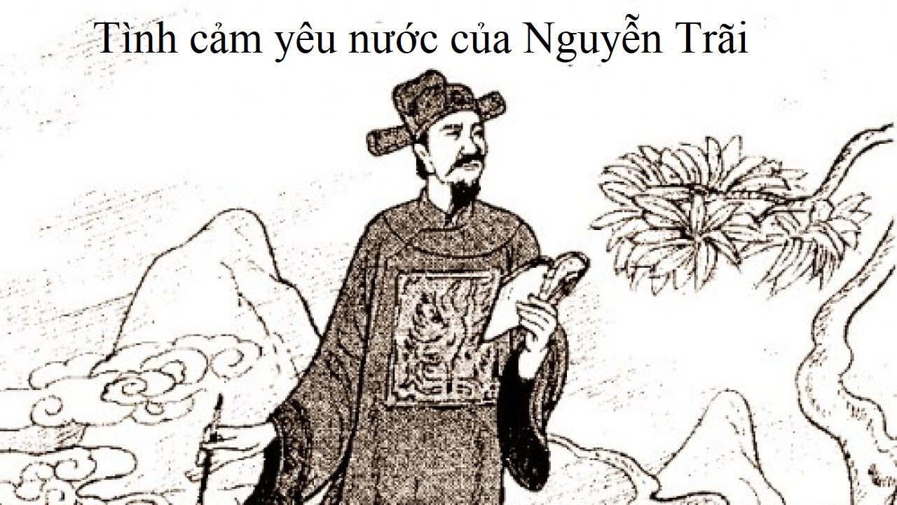 Tình cảm yêu nước của Nguyễn Trãi