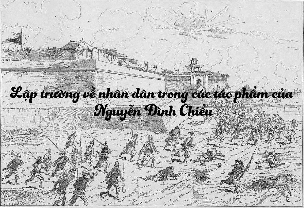 Lập trường nhân dân - Nguyễn Đình Chiểu