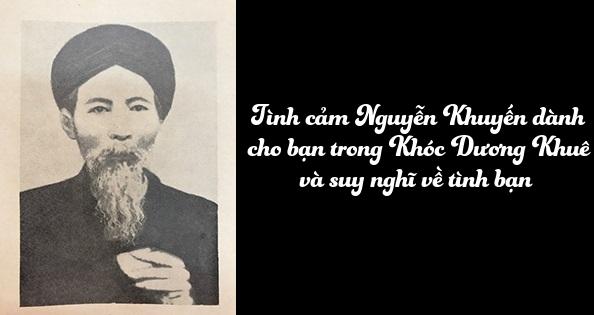 Nguyễn Khuyến-Khóc Dương Khuê