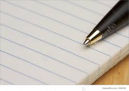 Office And Close-Up: Pen And Pad Of Paper - Stock Image I1952700 at  FeaturePics