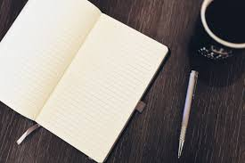 Notepad Pen Coffee Desk Free Stock Photo - NegativeSpace