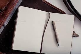 Pen and Journal | Pen, Journal, Empty notebook