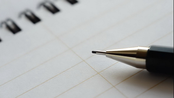 Notebook vs Mechanical Pencil by PROFESSIONALmotion | VideoHive
